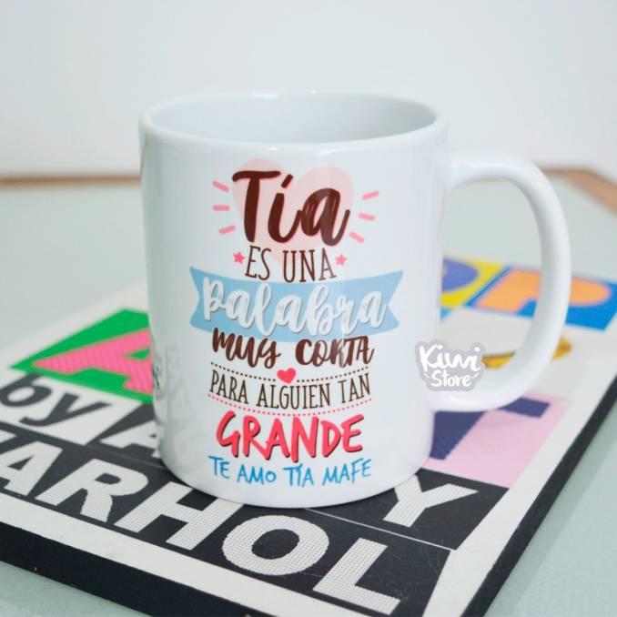 """Mug """"Tía"""""""