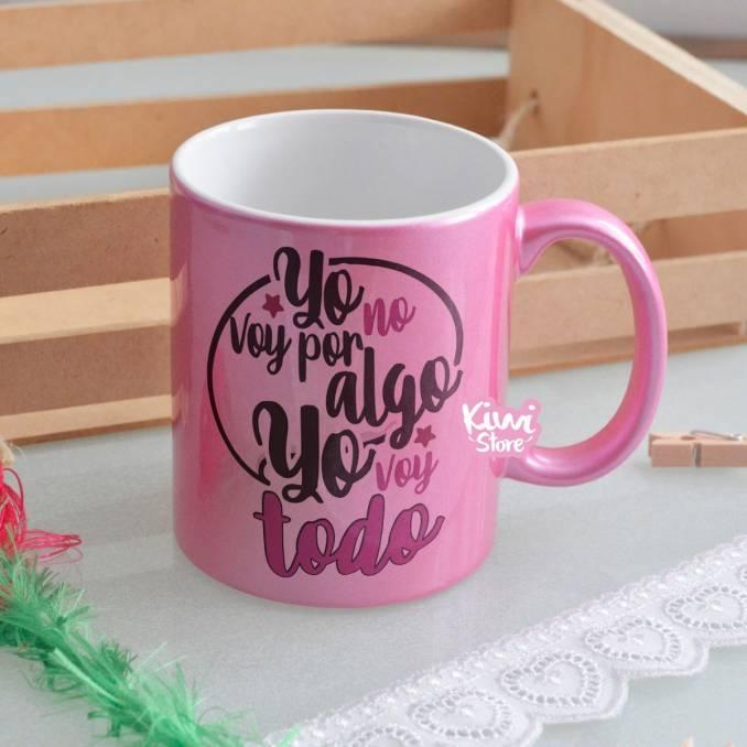 """Mug """"Yo voy por todo"""""""