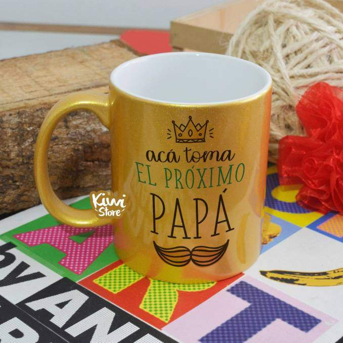 """Mug """"El próximo papá"""""""
