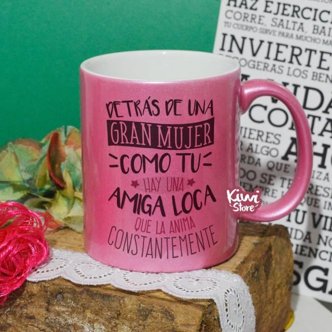 "Mug ""Amiga loca"""