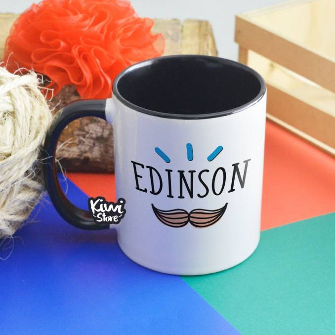 """Mug """"Acá toma café un super..."""
