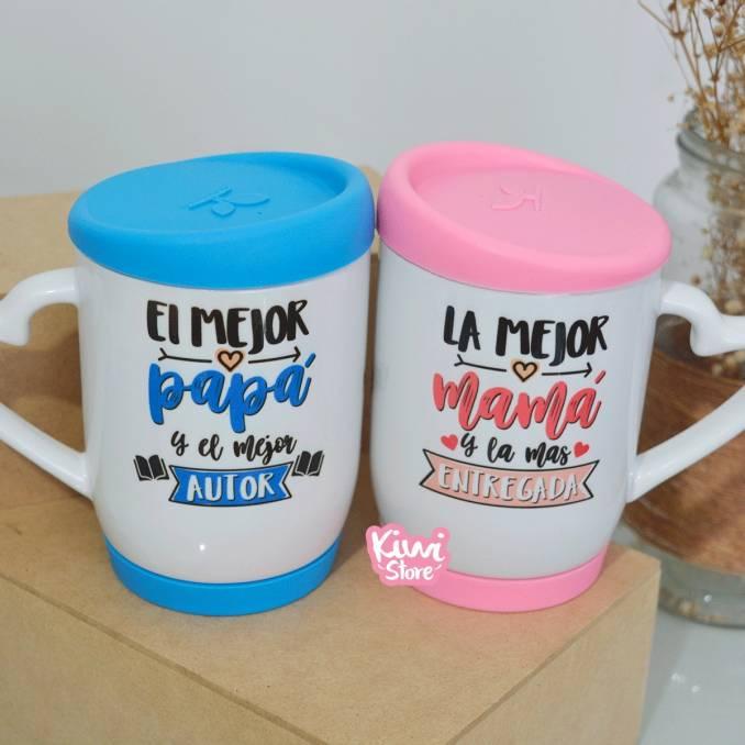"""Mugs """"Los mejores papas"""""""