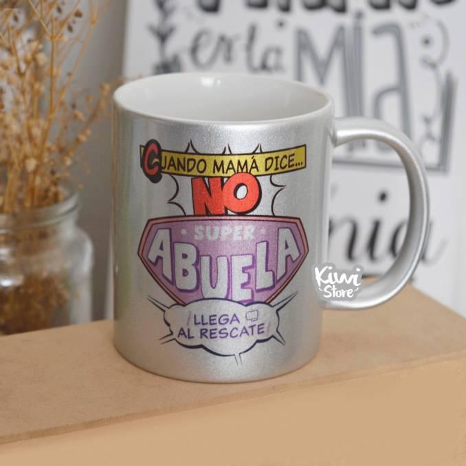 "Mug ""Super abuela al rescate"""