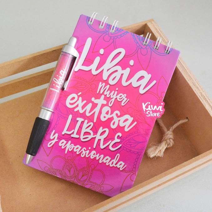 """Libreta """"Si lo crees, lo..."""
