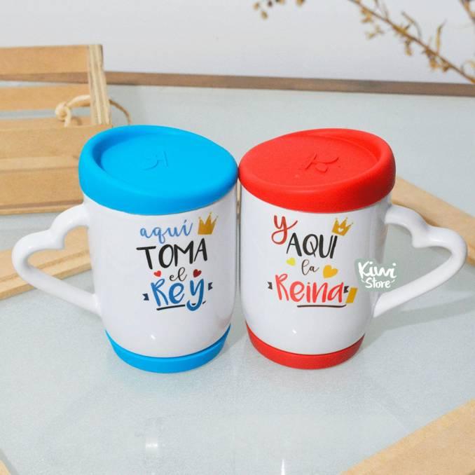 """Mugs """"Rey y Reina"""""""
