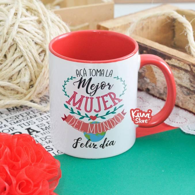 """Mug """"Acá toma la mejor..."""