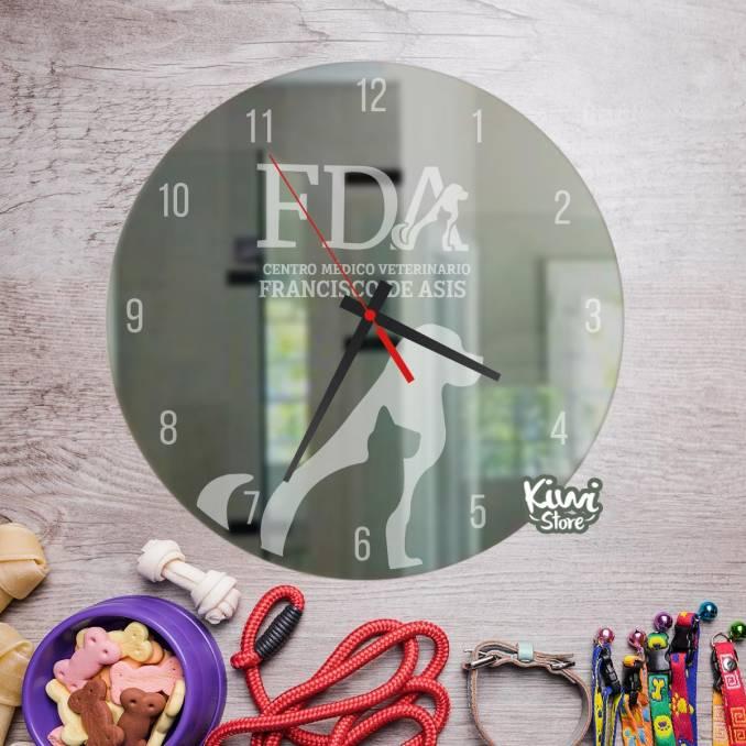"""Reloj """"Veterinaria FDA"""""""