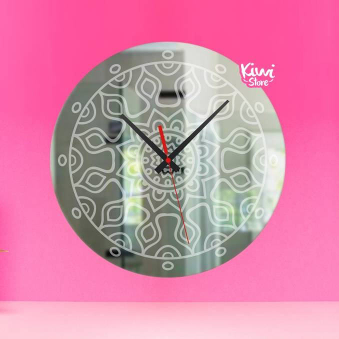 "Reloj ""Mandalas"""