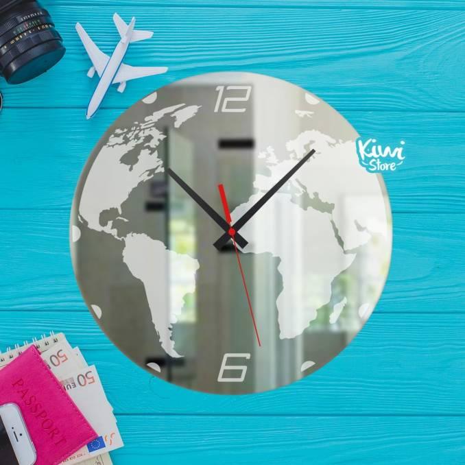"""Reloj """"Viajar por el Mundo"""""""