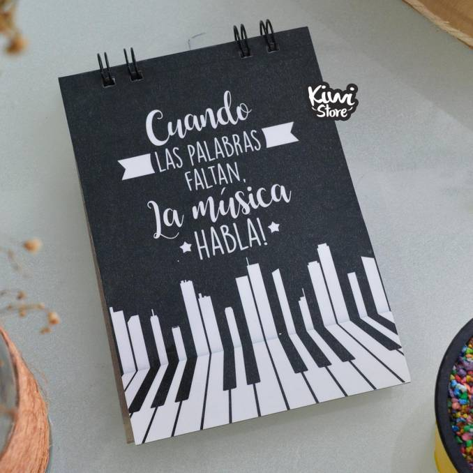 """Libreta """"Cuando las..."""