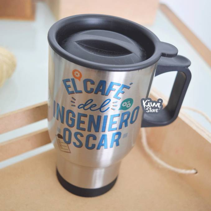"""Termo """"El café del ingeniero"""""""