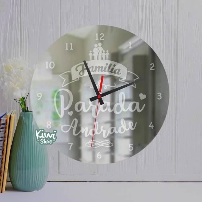 """Reloj """"Para la familia -..."""