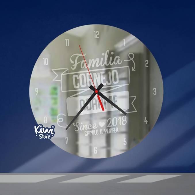 """Reloj """"Mi familia - Since ❤..."""