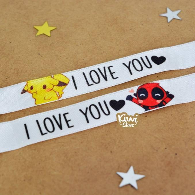 "Manillas ""Te amo"""