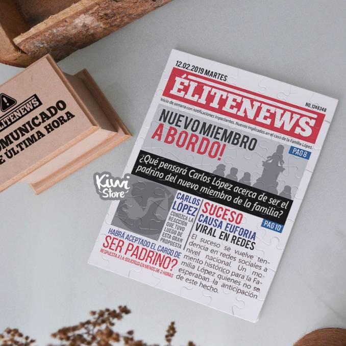 """Rompecabezas """"EliteNews"""""""
