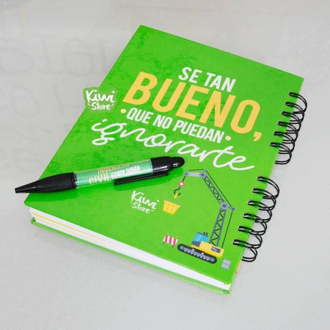 """Cuaderno """"Notas del..."""
