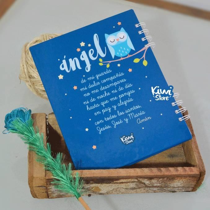 """Cuaderno """"Ángel de la guarda"""""""