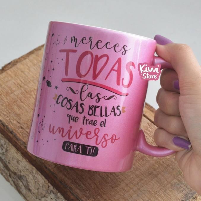 """Mug """"Mereces todas las..."""