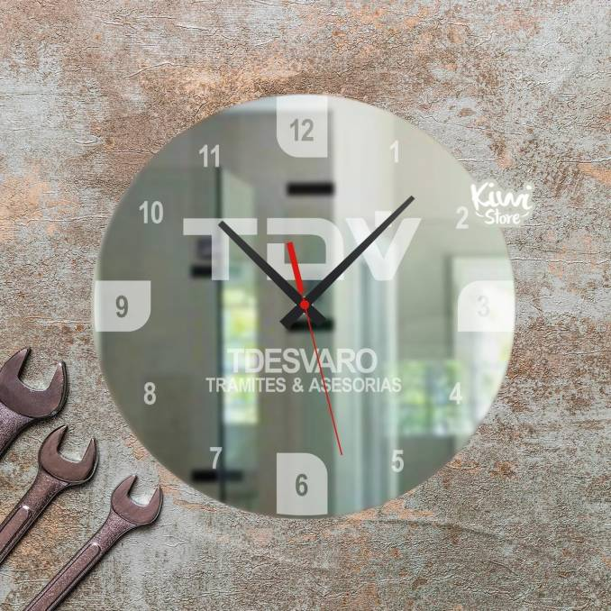 "Reloj ""Empresarial - Tdesvaro"""