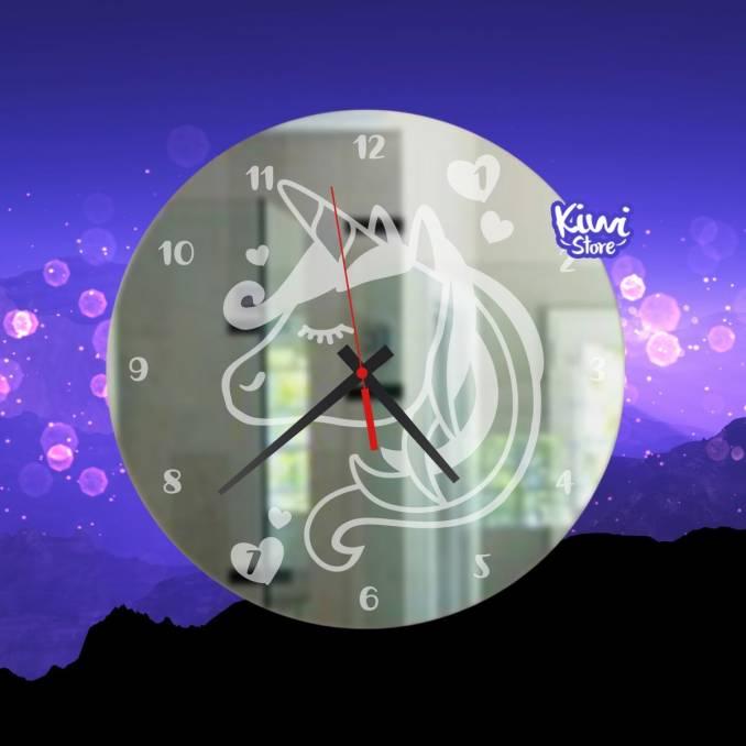 """Reloj """"Unicornio"""""""