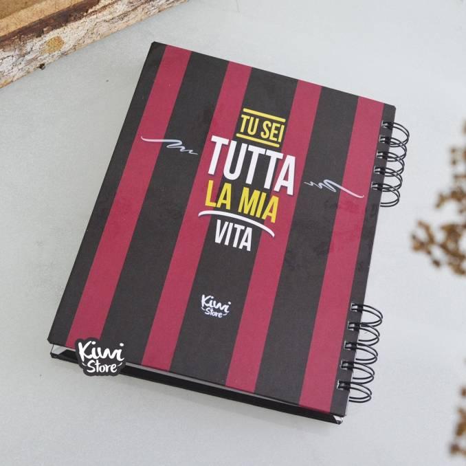 """Cuaderno """"Hincha del Milan"""""""