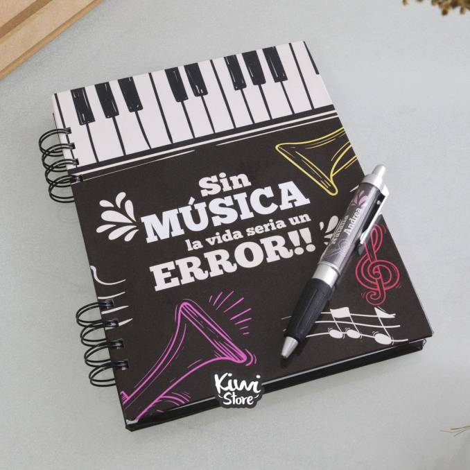 """Cuaderno """"Musical"""""""