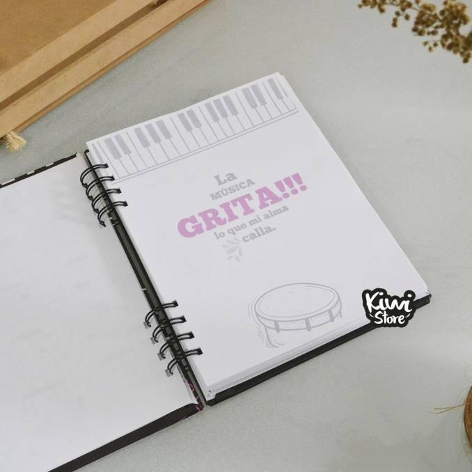 Cuaderno - La Música