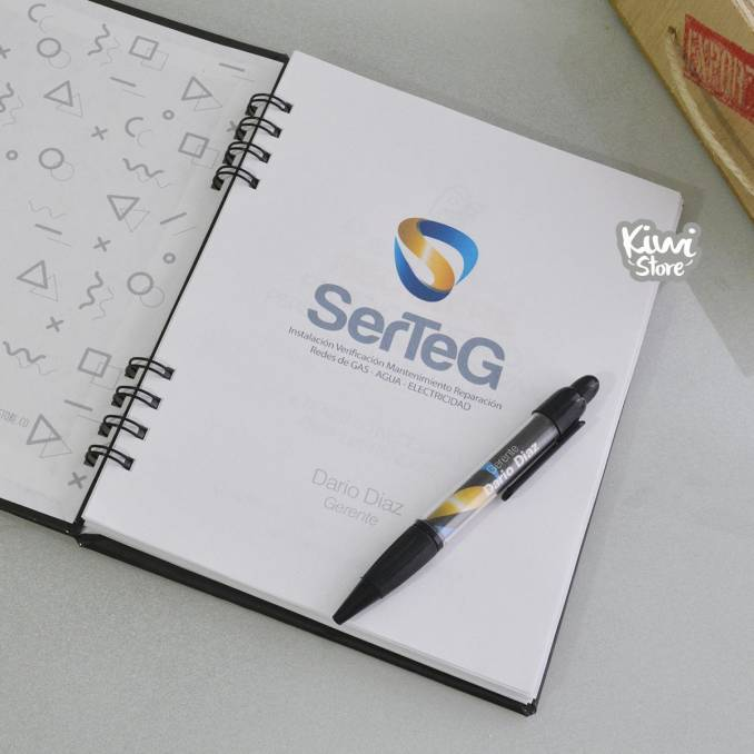 Cuaderno - Empresarial SerTeG