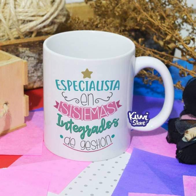 """Mug """"Especialista en..."""