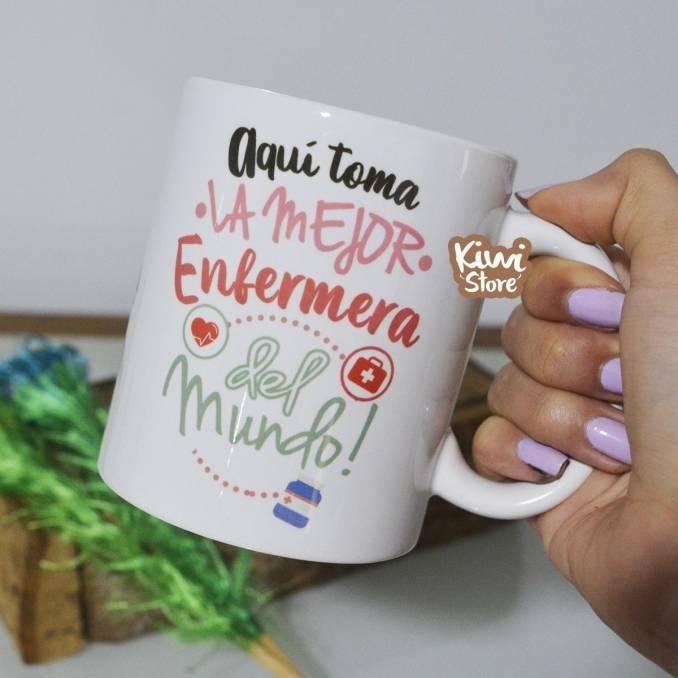 """Mug """"La mejor enfermera del..."""