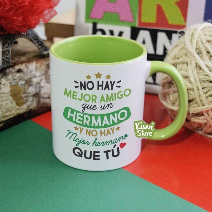 """Mug """"No hay mejor amigo que..."""