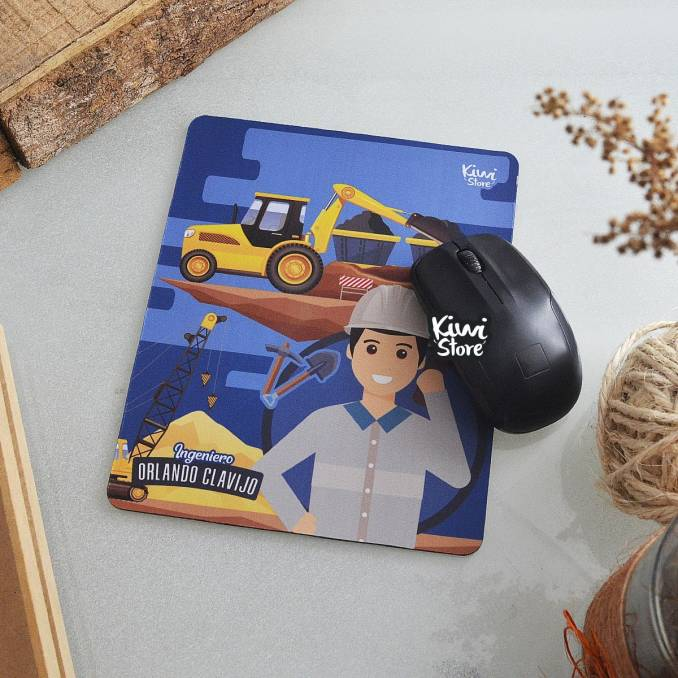 "Mouse Pad ""Ingeniero"" - Azul"