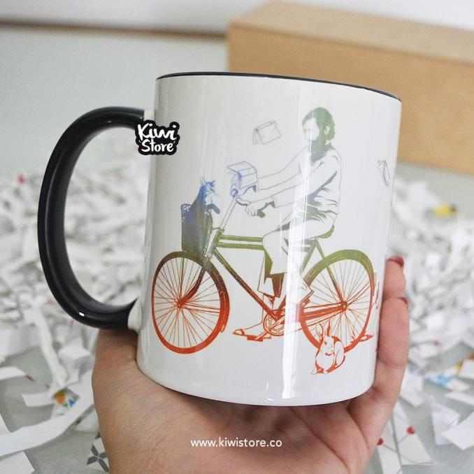 """Mug """"A veces uno amanece..."""