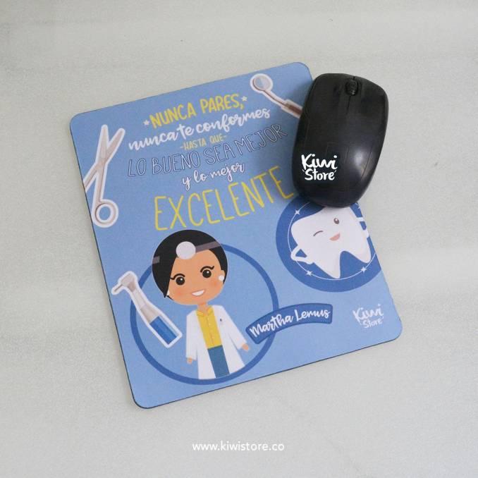 Mouse Pad - Odontóloga Celeste
