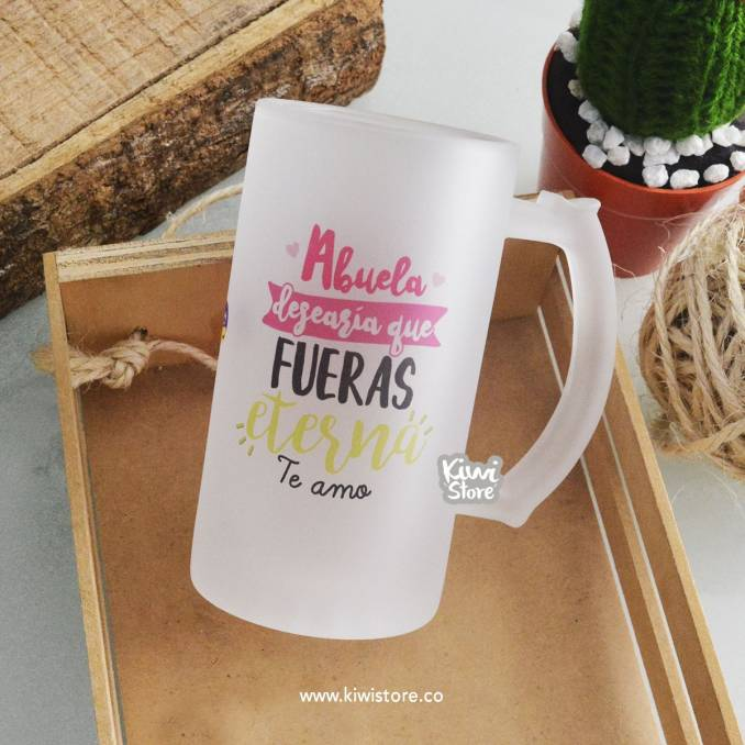 """Mug """"Abuelita, desearía que..."""