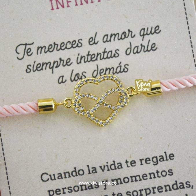 """Pulsera """"Eres amor infinito"""""""