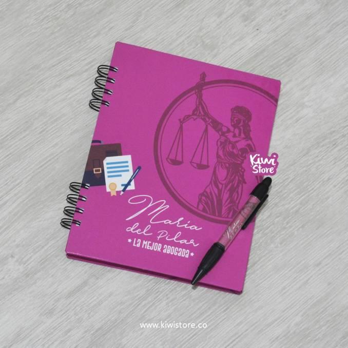 "Cuaderno ""Abogada"""