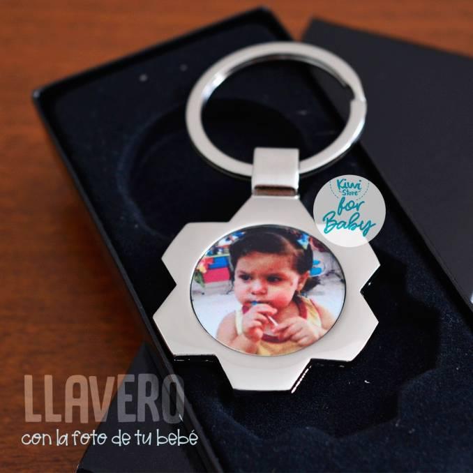 """Llavero """"Foto de mi bebé"""""""