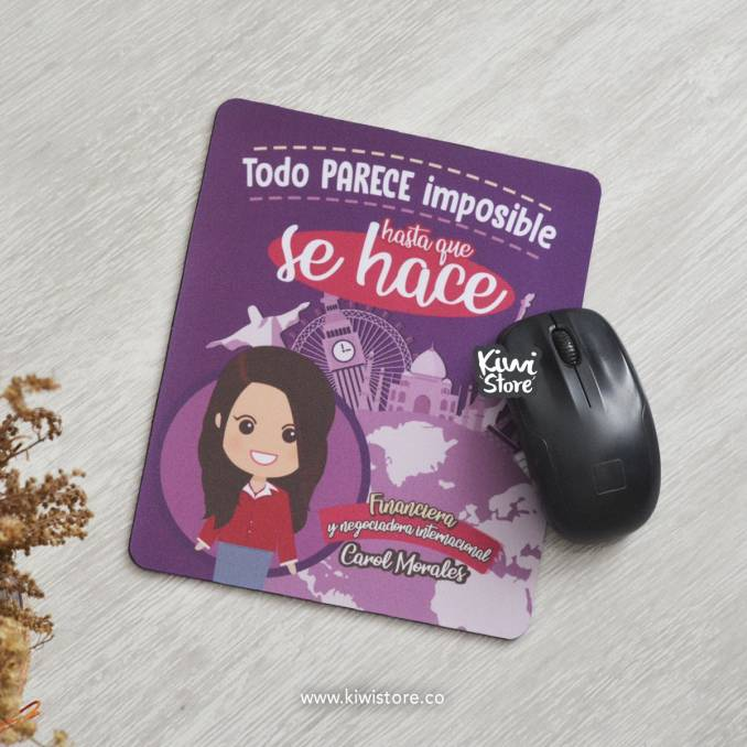 "Mouse Pad ""Financiera"""