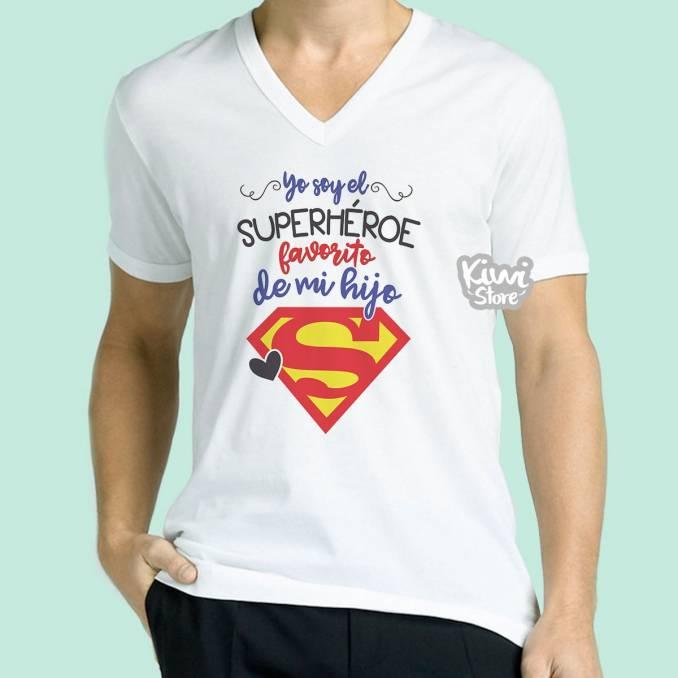 "Camisa ""El Superhéroe..."