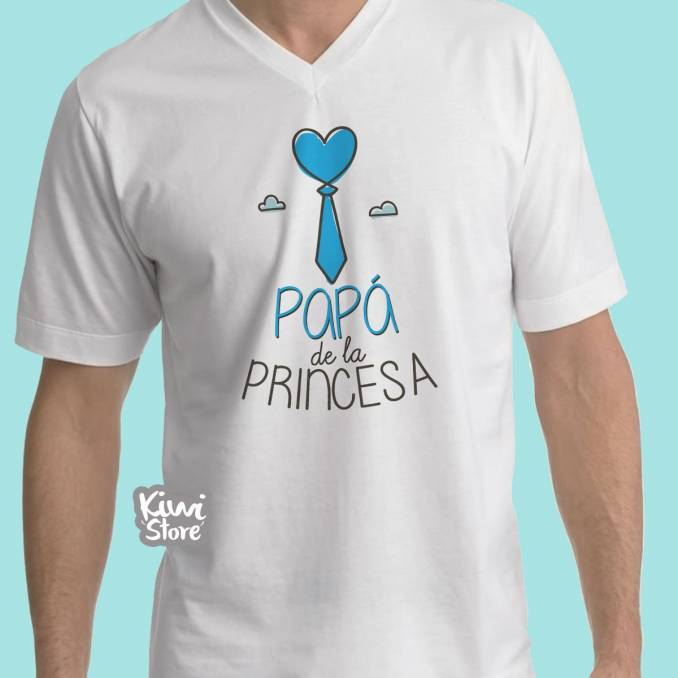 "Camisa ""Papá de la princesa"""