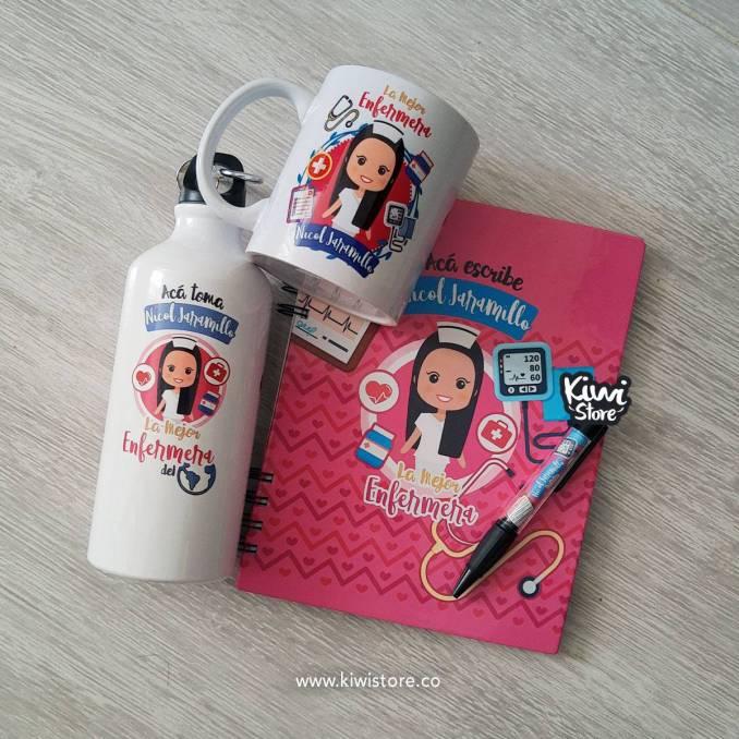 Combo Agenda + mug + termo...