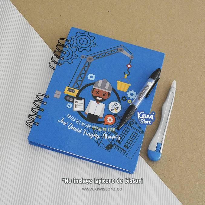 """Cuaderno """"Notas del mejor..."""