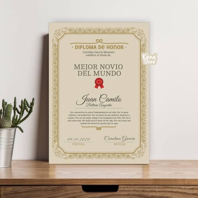 Retablo - Diploma al Mejor...