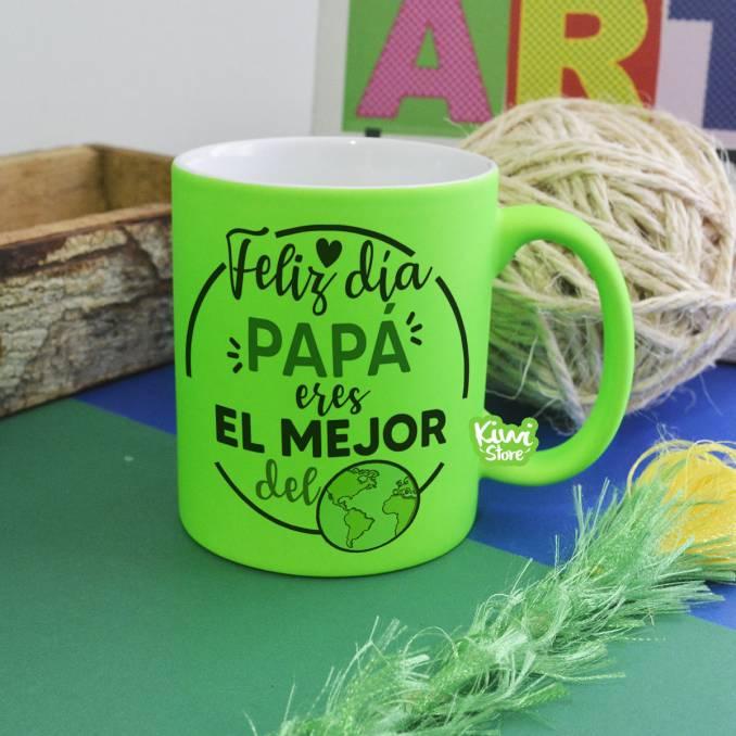 Mug - Feliz día papá, eres...