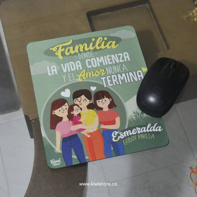 Mouse Pad - Familia, donde...