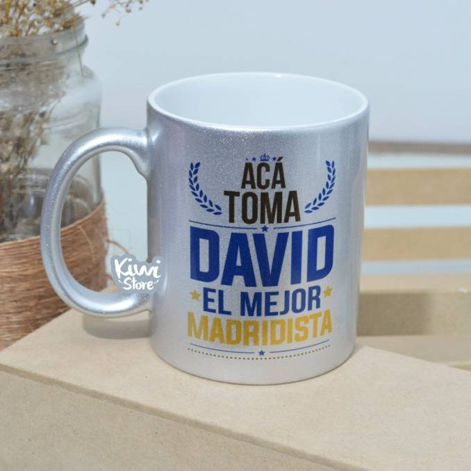 "Mug ""El mejor madridista"""