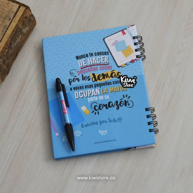 Cuaderno - Mis Notas Azul