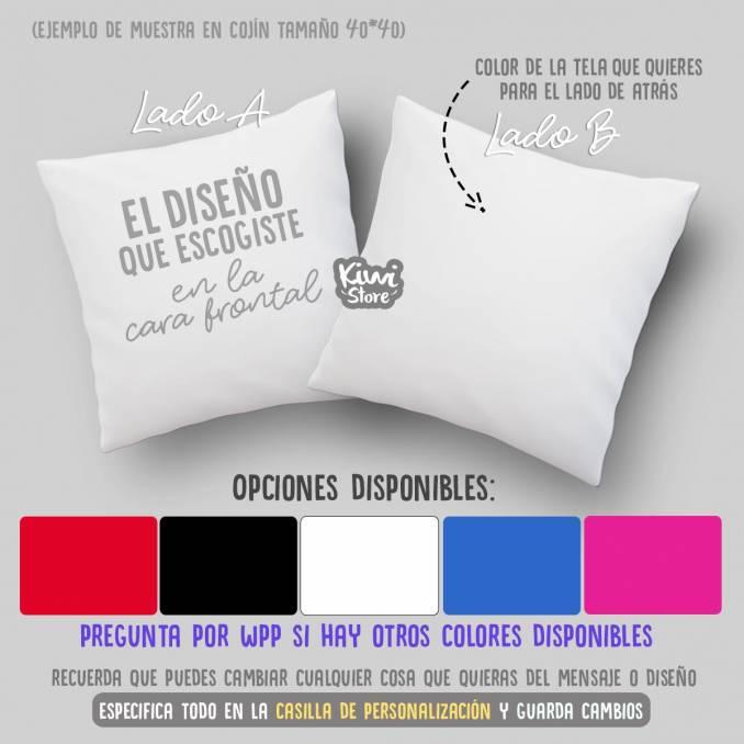 Cojín - El amor todo love