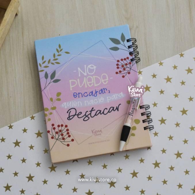 Cuaderno - Nunca dejes de...